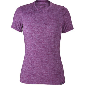 Patagonia Capilene Daily T-Shirt Women Light Acai-Ikat Purple X-Dye